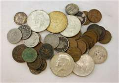 Mixed Group of US Coins 273 Face 1867  1967