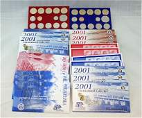 24 US Mint Uncirculated Coin Sets 1999  2008