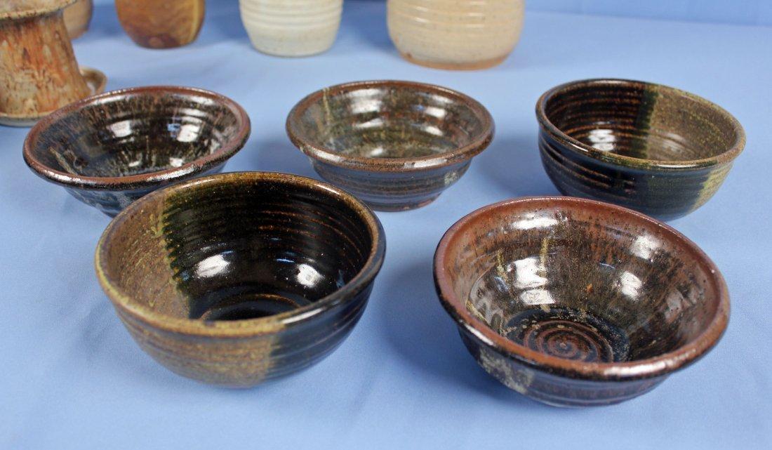 12 Pieces of 20th Century Salt Glazed Stoneware - 2