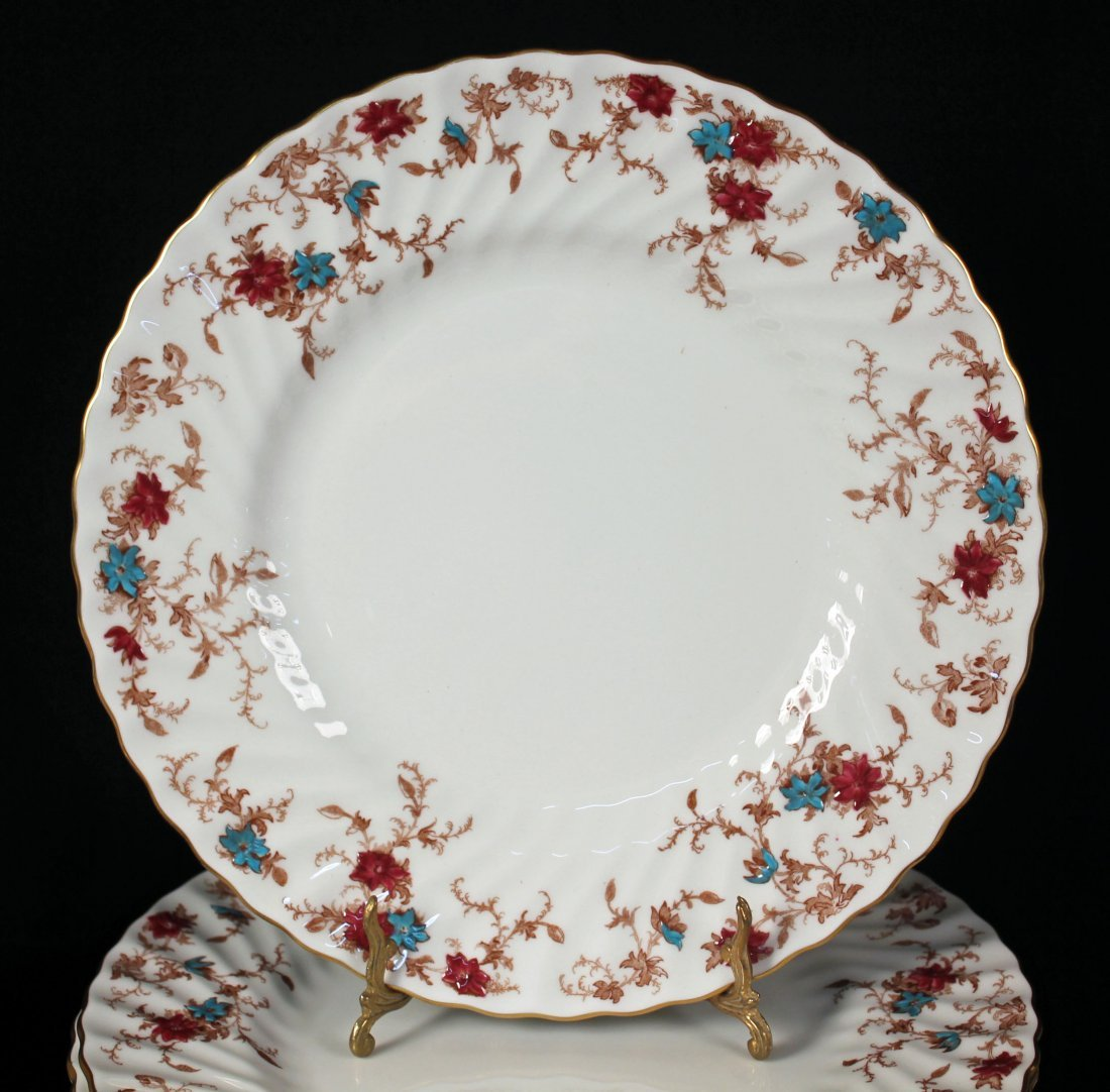 12 Place Setting of  Minton Ancestral Pattern Set - 2