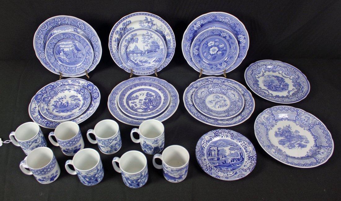 Spode Blue Room Collection 24 Piece Set
