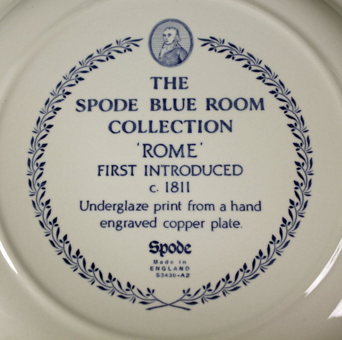 Spode Blue Room Collection 24 Piece Set - 3
