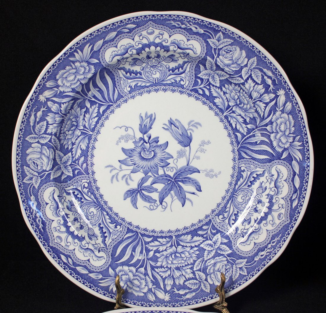 12 Spode Blue Room Collection Dinner Plates - 2