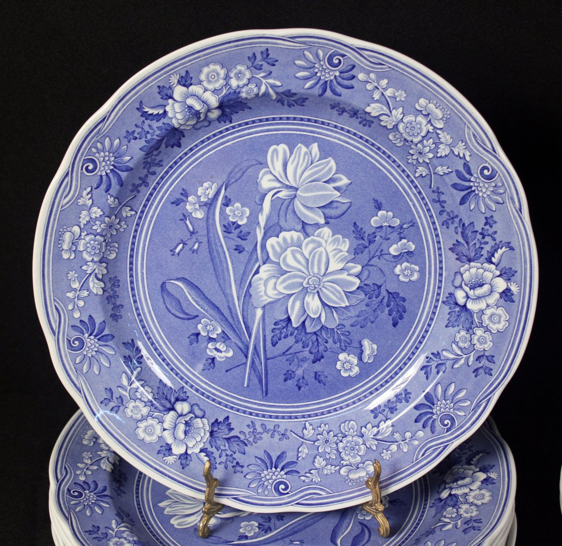 42 Spode Blue Room Collection Plates & Containers - 2