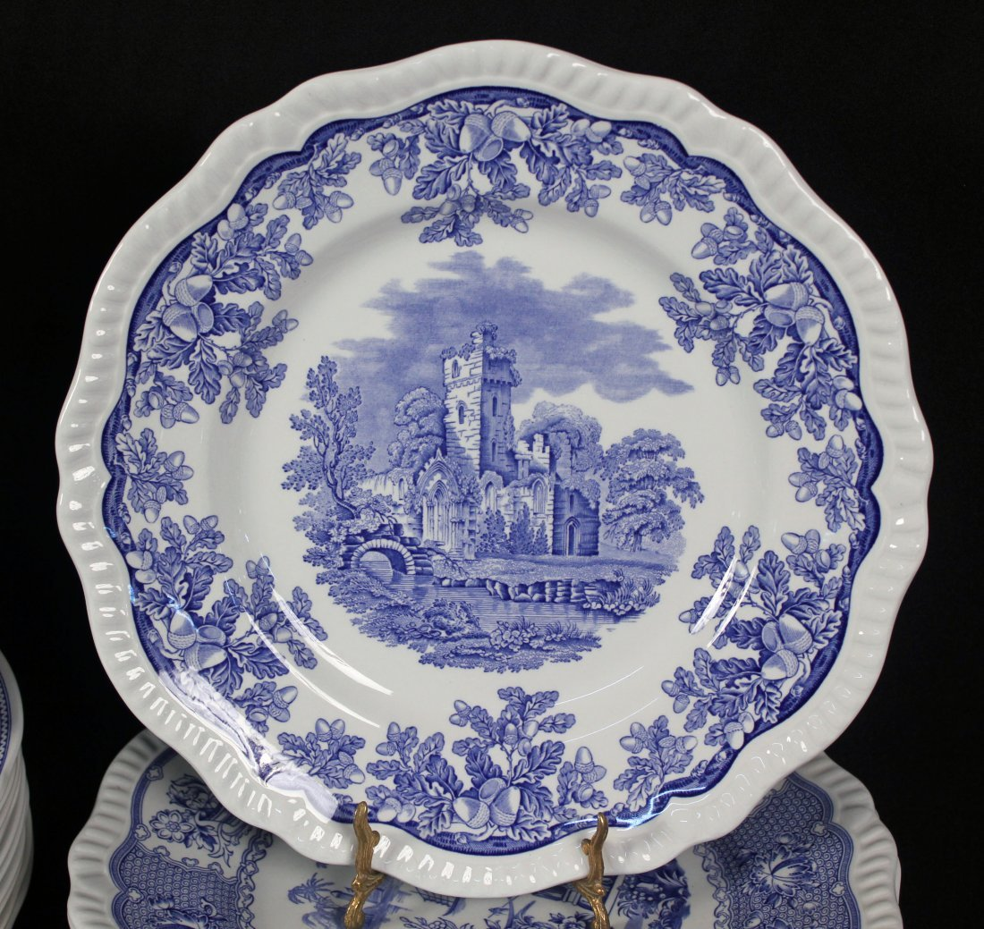 42 Spode Blue Room Collection Plates & Containers - 4