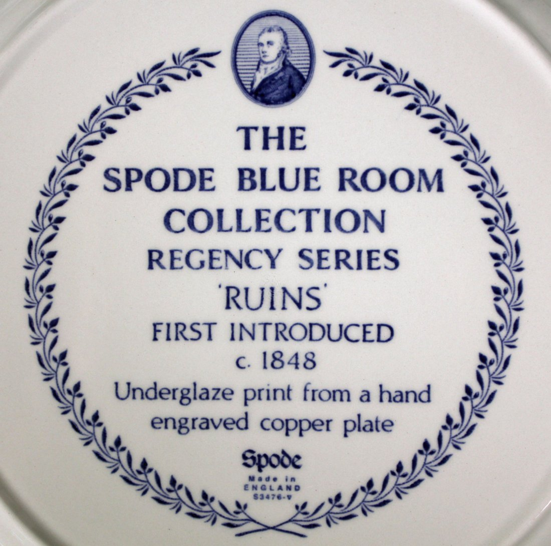 42 Spode Blue Room Collection Plates & Containers - 5