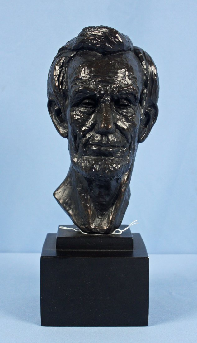1955 Leo Cherne Bust of Abraham Lincoln
