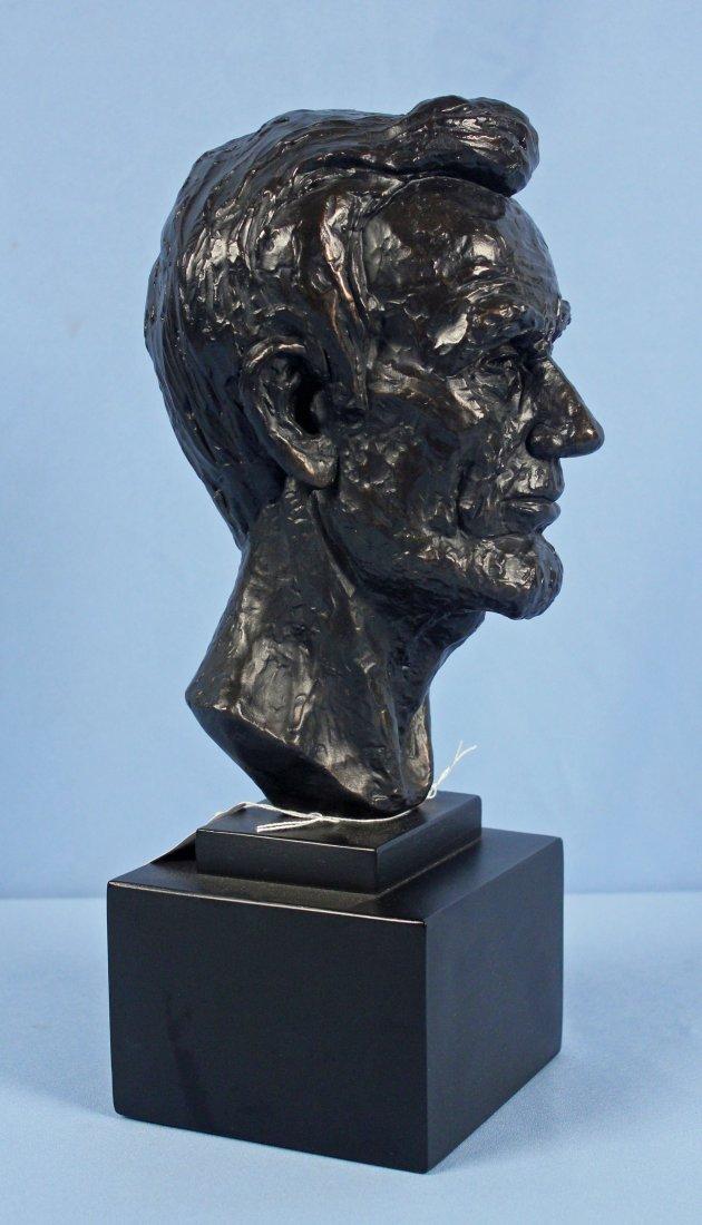 1955 Leo Cherne Bust of Abraham Lincoln - 2
