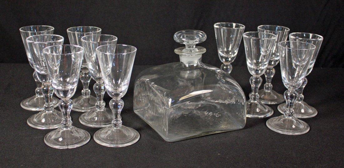 Royal Leerdam Williamsburg Glasses & Decanter