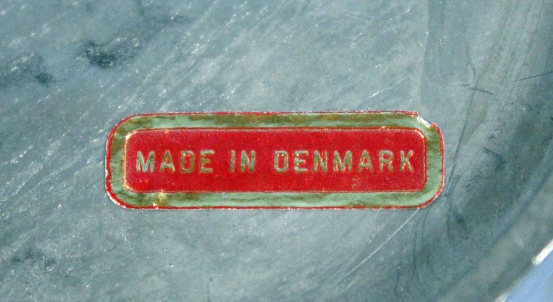 7 Graduated Pewter Denmark Measures - 3