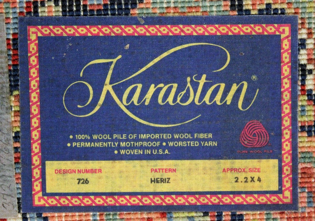 Two Karastan Chahar Mahal Rugs Heriz, Kirman - 7