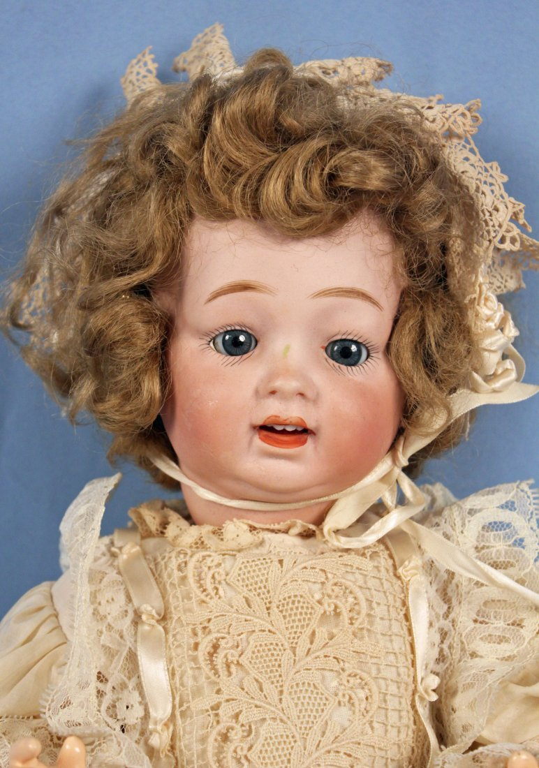 C. 1920 Antique Morimura Bros. Bisque Head Doll