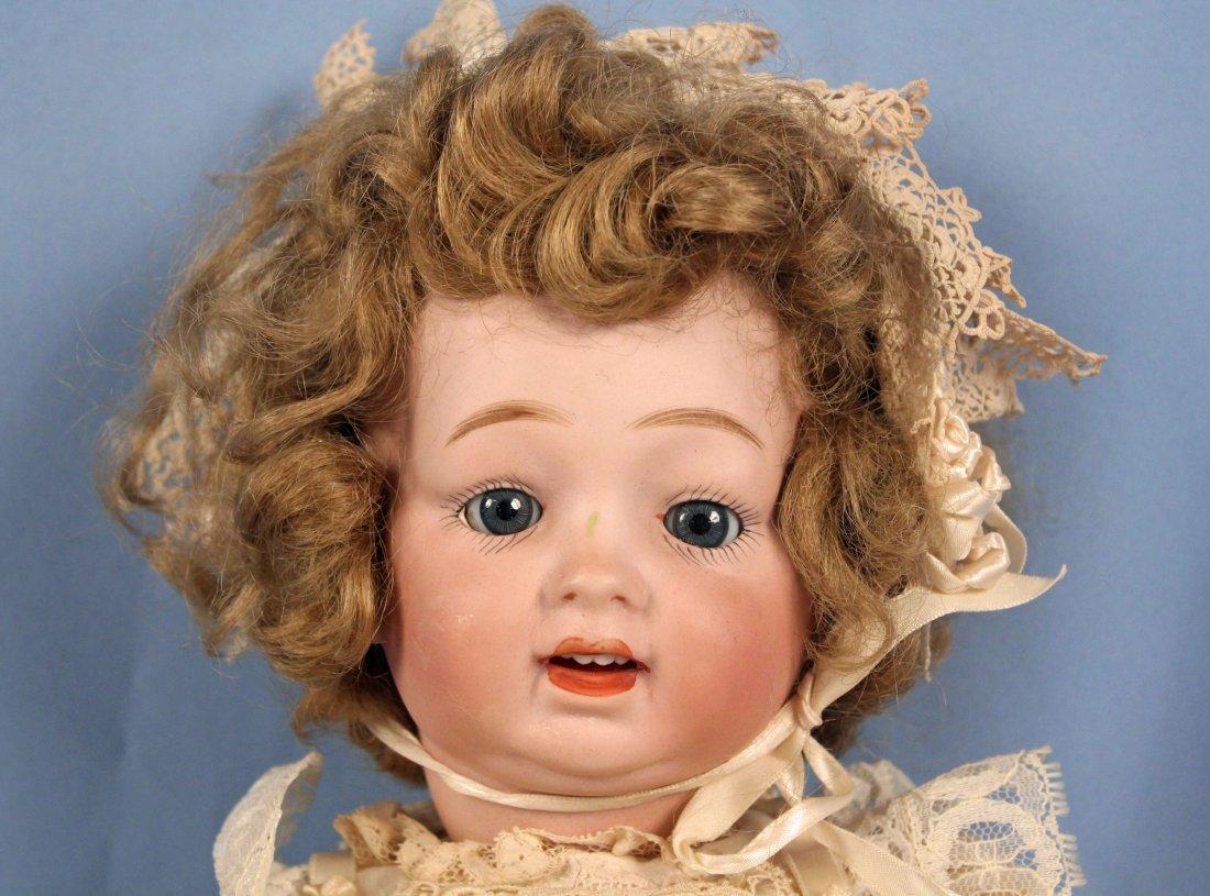 C. 1920 Antique Morimura Bros. Bisque Head Doll - 2