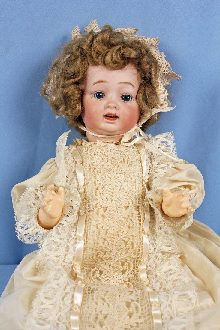 C. 1920 Antique Morimura Bros. Bisque Head Doll - 3