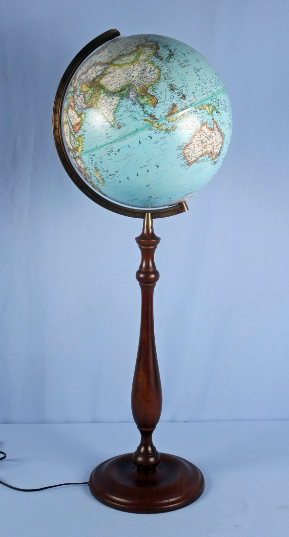National Geographic Light-Up Globe On Stand