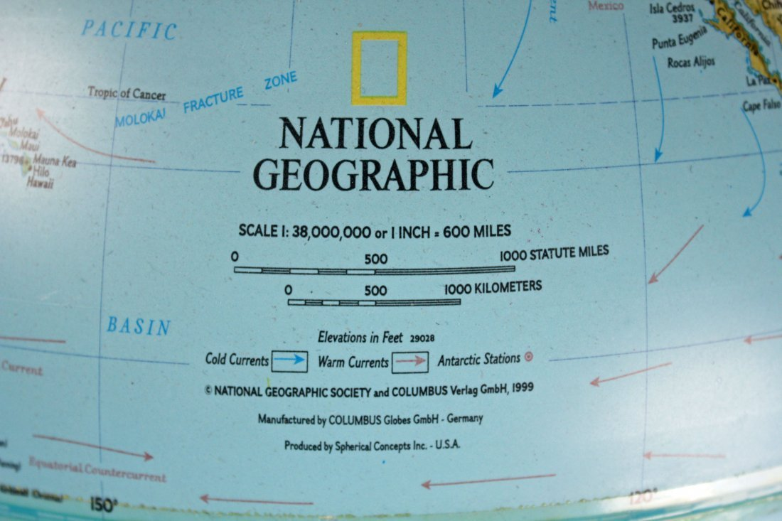 National Geographic Light-Up Globe On Stand - 3