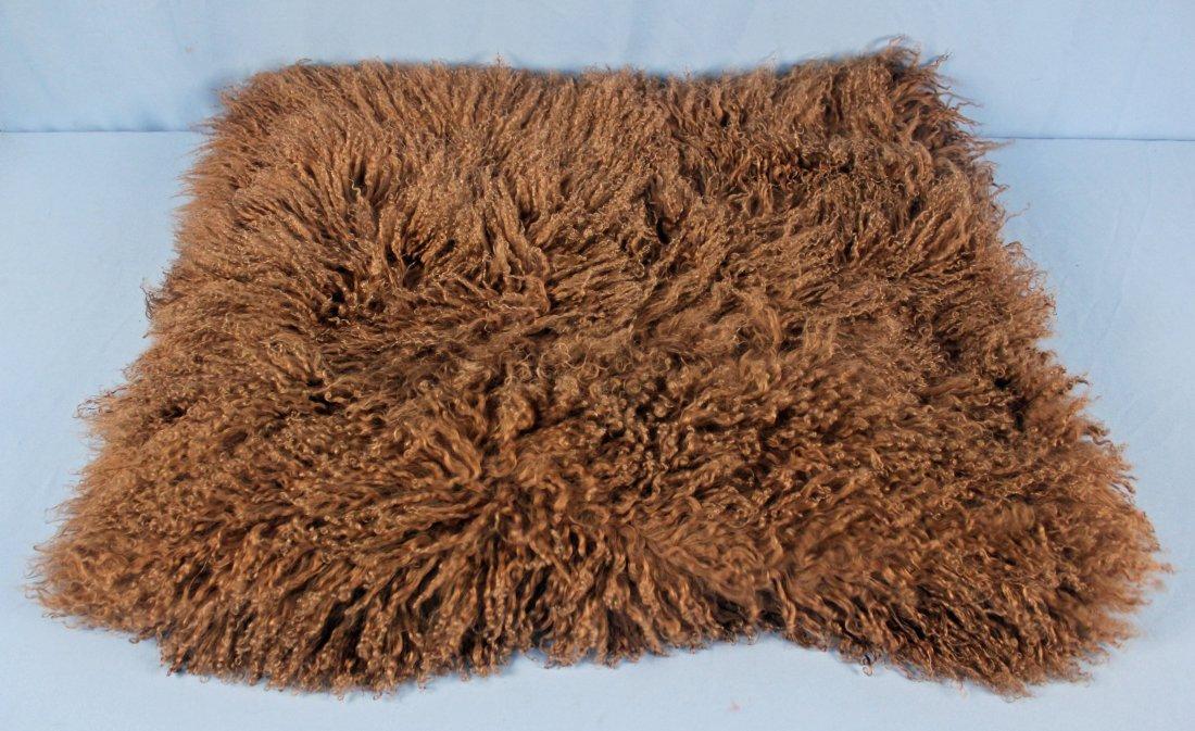 Marlo Lorenz Mongolian Thro 100% Wool Throw