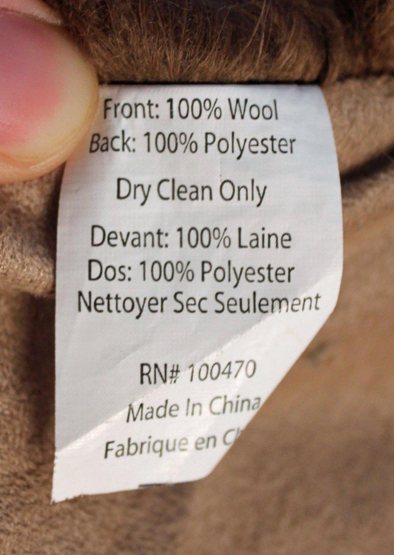 Marlo Lorenz Mongolian Thro 100% Wool Throw - 4