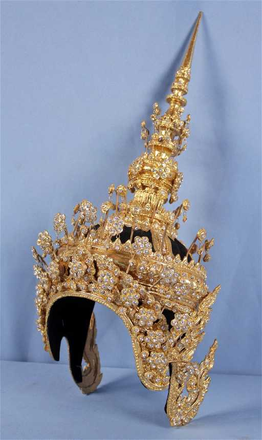 Thai Ram Dancer Crown or Headdress