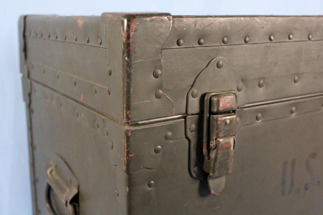 U.S. Army Field Office Typewriter Shipping Locker - 2