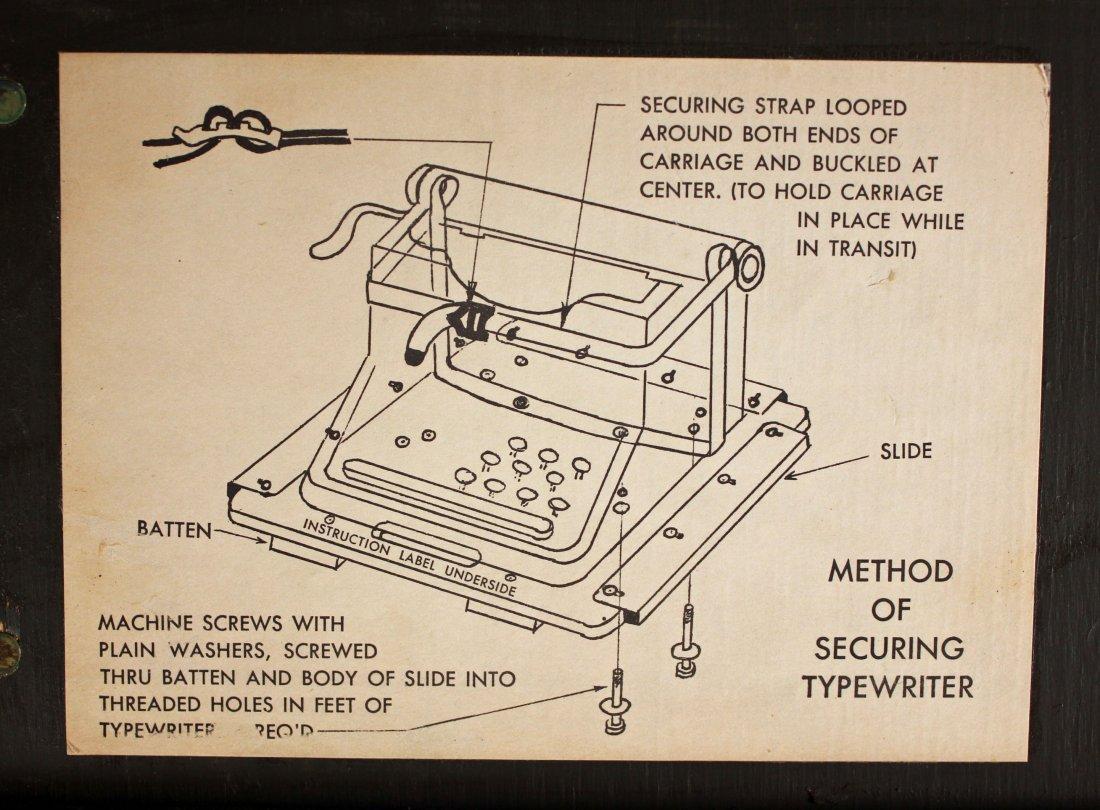 U.S. Army Field Office Typewriter Shipping Locker - 5