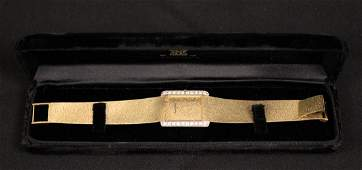 Bueche Girod 18K Gold & Diamond Ladies Wristwatch