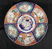 Large Hand Painted Chinese Imari Charger
