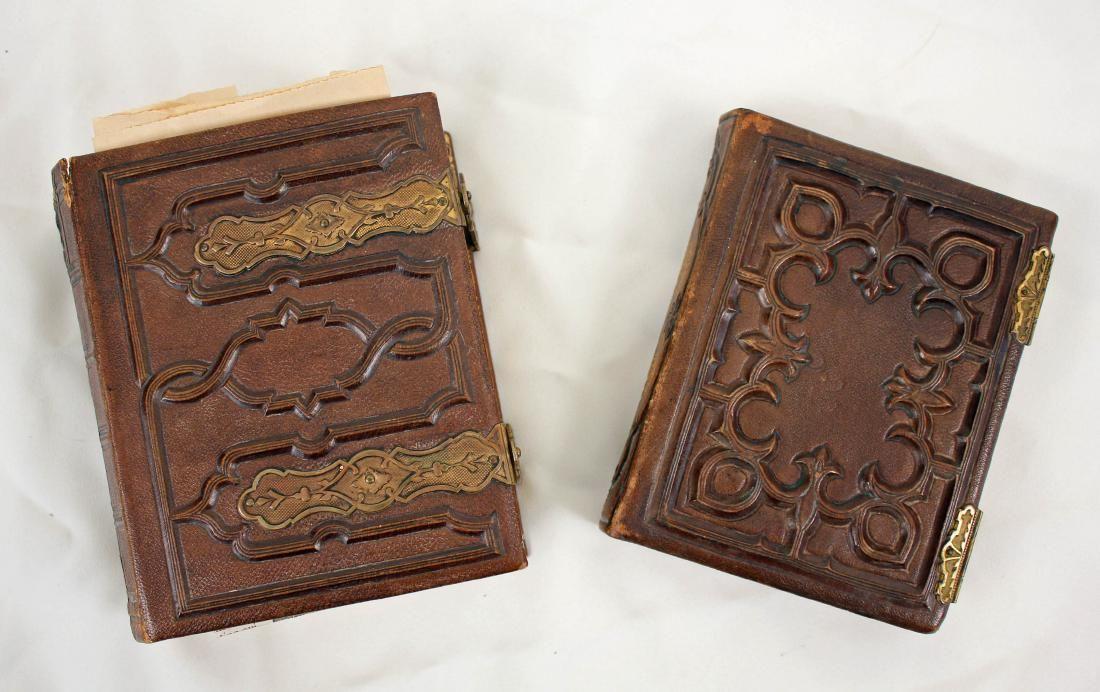 2 Photo Albums, 19th C Bolivar, TN. & Abe Lincoln