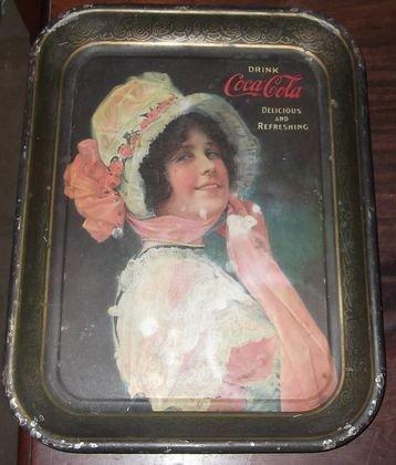 3: 1914 Coca Cola tray