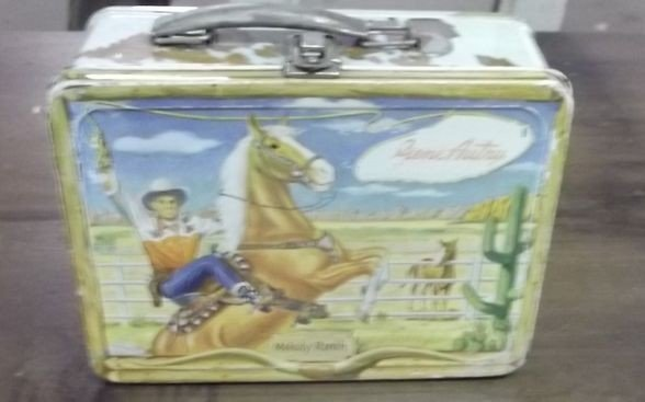 5: Gene Autry lunch box