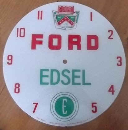 7: Ford Edsel Pam Clock Face