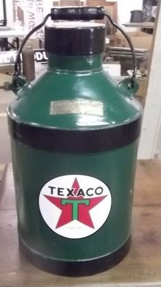 10: Texaco Oil Can