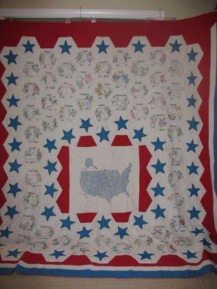 13: Vintage Handmade Quilt