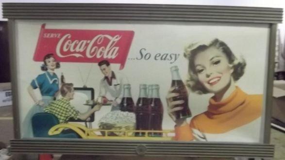 22: Cardboard Coke Ad