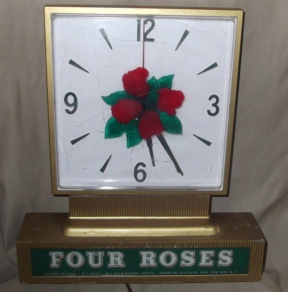 4: Four Roses Whiskey Clock
