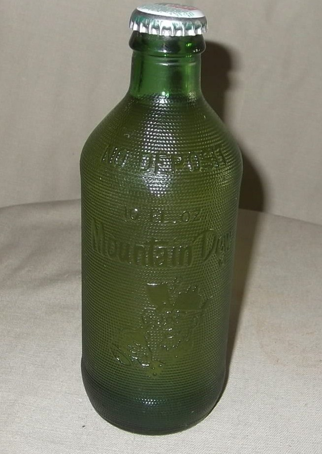 7: Vintage Mountain Dew Bottle