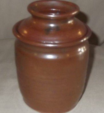 6A: Southern Pottery butter keeper