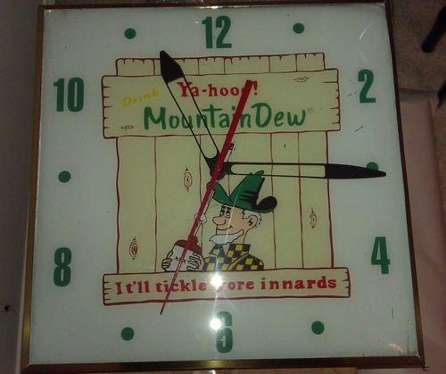 1: Mt. Dew Pam clock