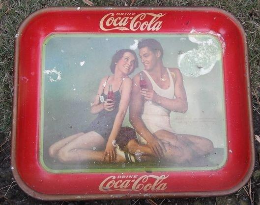 2: 1934 Johnny Weissmuller Coke trey