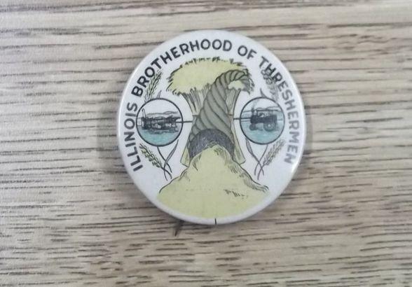 24: Late 1800's Thresherman pin