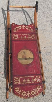 1: Paris Clipper sled