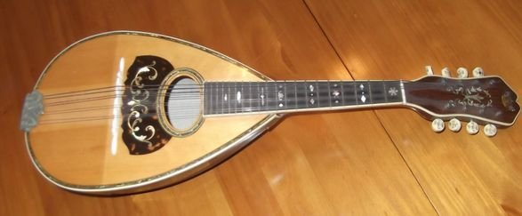 7: 1919 Martin employee made Mandolin