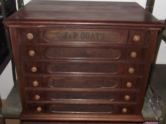 High Quality 2: JP Coats Spool Cabinet