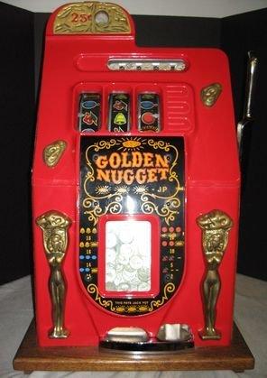 7: Vintage Golden Nugget quarter slot machine