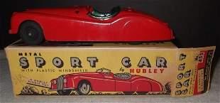 Hubley metal sports car