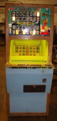 17: Midway Jokers Wild coin op