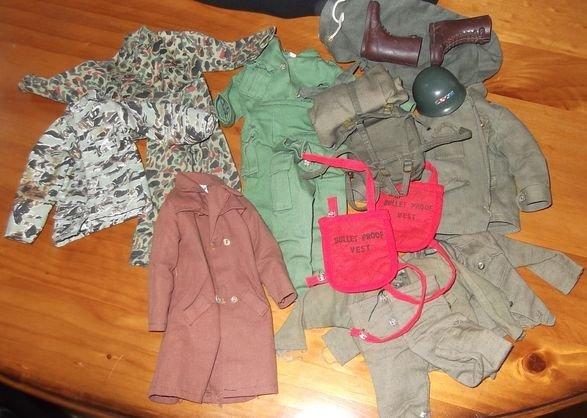 21: vintage GI Joe uniforms