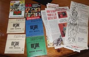 Gi Joe field manuals & papers