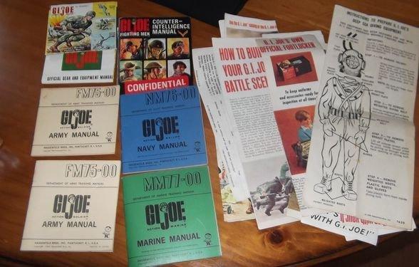 24: Gi Joe field manuals & papers