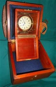 33: Waltham Chronometer watch w/ Navy paperwork
